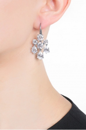 Earrings with zircons od Bottega Veneta
