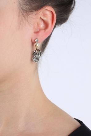 Crystal-embellished earrings od Gucci