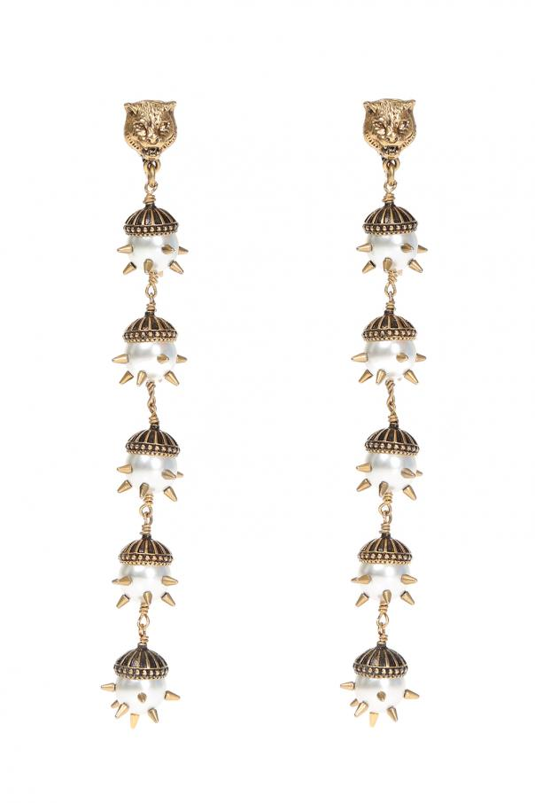 31405e20949 Long clip-on earrings Gucci - Vitkac shop online