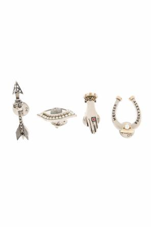 Set of 4 pins od Alexander McQueen