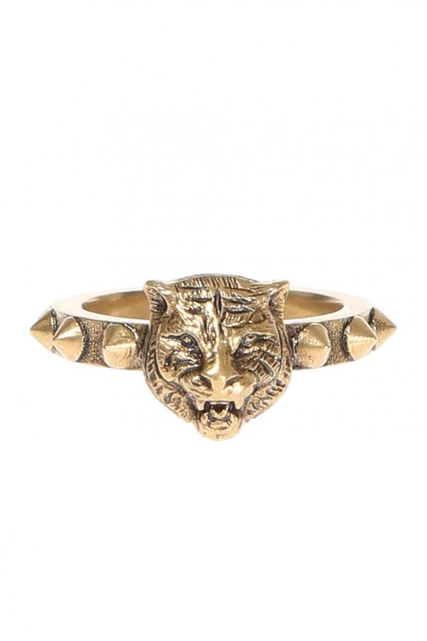 0a7285580 Tiger head motif ring Gucci - Vitkac shop online