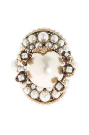 Ring with pearls od Gucci