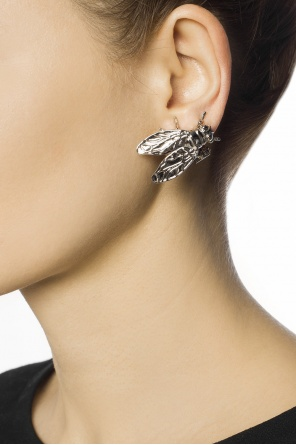 Fly-shaped earring od Balenciaga