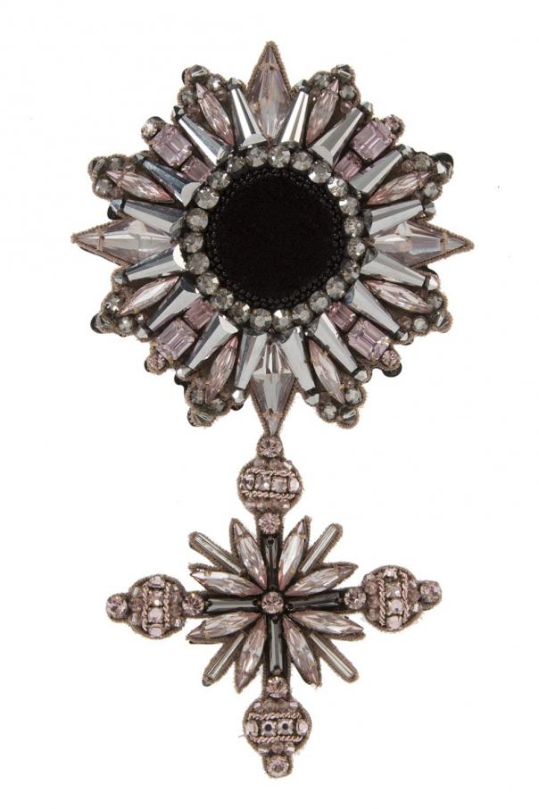 Embellished brooch od Gucci