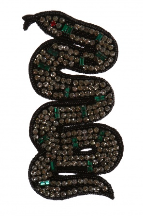 Snake-shaped brooch od Gucci