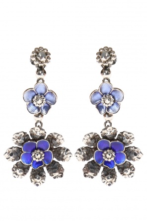 Floral motif earrings od Bottega Veneta