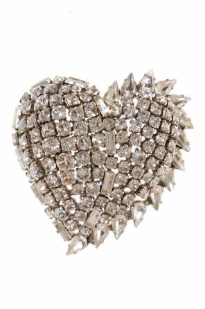 Heart-shaped brooch od Saint Laurent Paris