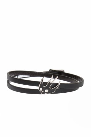 Triple leather bracelet od McQ Alexander McQueen