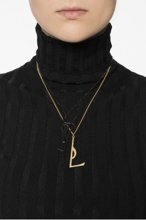 Logo necklace od Saint Laurent Paris
