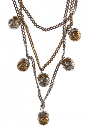 Necklace with round charms od Alexander McQueen