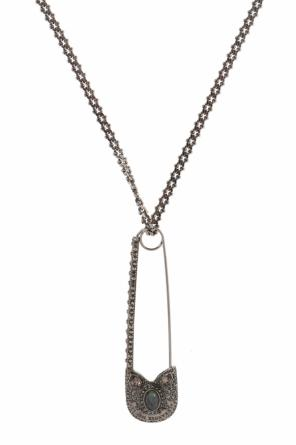 Safety-pin necklace od Alexander McQueen