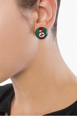 Logo earrings od Gucci
