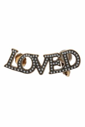 'loved' earring od Gucci