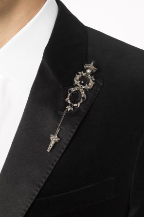 Embellished pin od Alexander McQueen