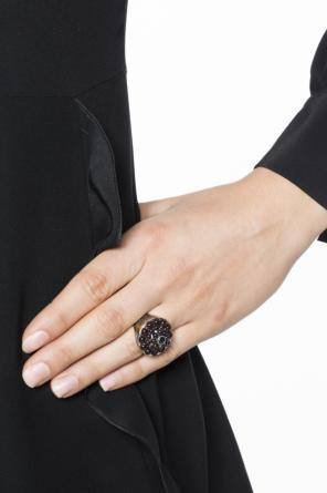 Encrusted ring od Bottega Veneta