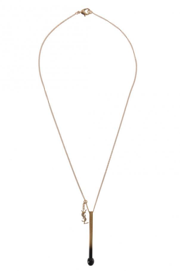 4b4b2ffd31c Necklace with charms Saint Laurent - Vitkac shop online