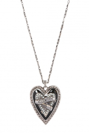 'heart locket' necklace od Alexander McQueen