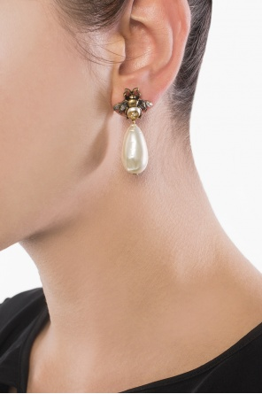 Embellished earrings od Gucci