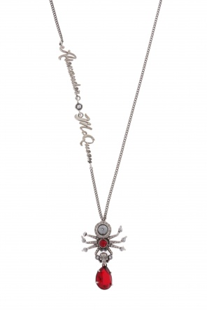 Necklace with spider charm od Alexander McQueen