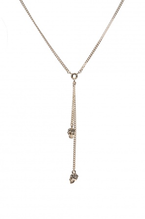 'chain skull' necklace od Alexander McQueen