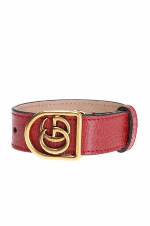 Bracelet on leather strap od Gucci