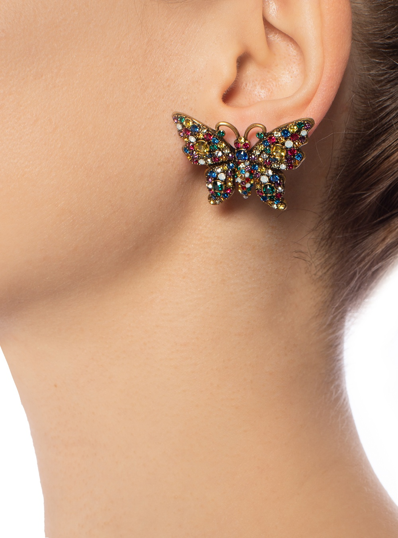 Gucci Butterfly earrings