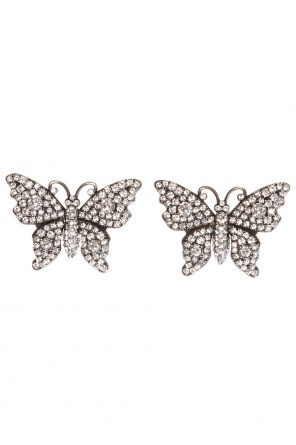 Butterfly earrings od Gucci