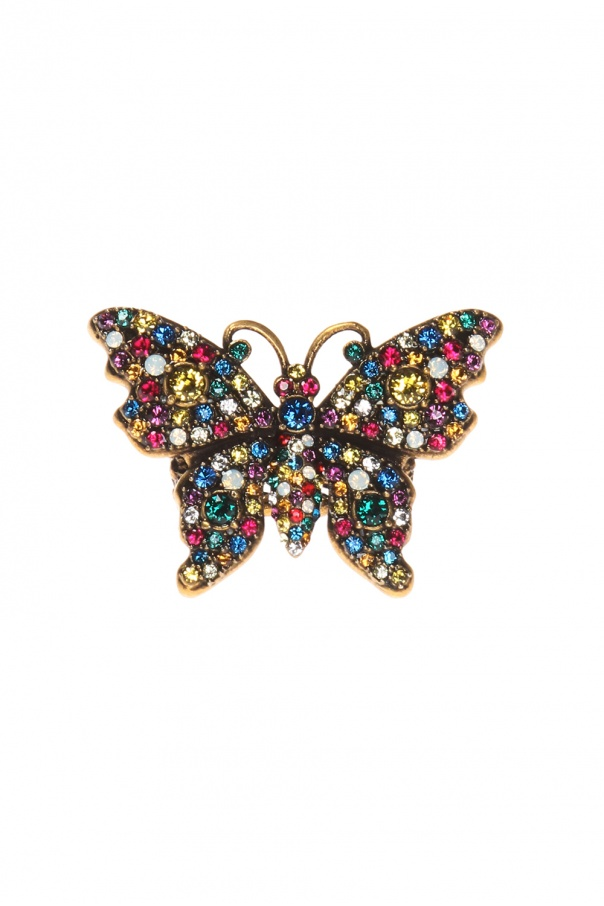 Butterfly ring od Gucci