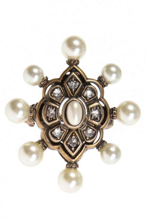 16b4c08029e Embellished ring Gucci - Vitkac shop online