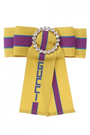Brooch with grosgrain bow od Gucci