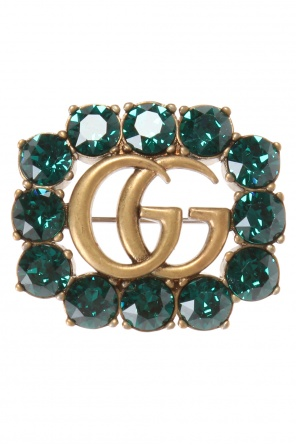Encrusted brooch od Gucci
