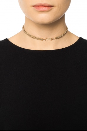 Necklace with braided chains od Saint Laurent
