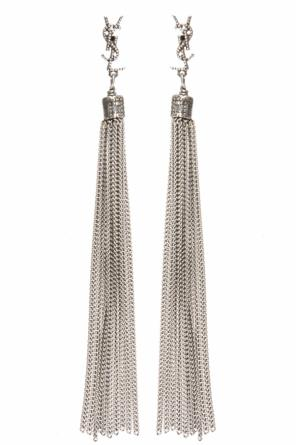 'loulou' earrings od Saint Laurent