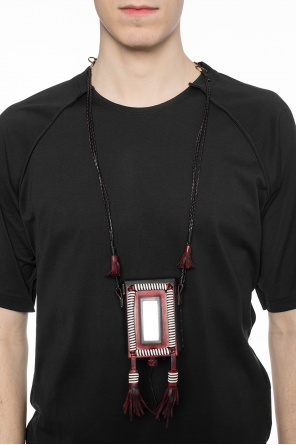 Necklace with cigarette case od Saint Laurent