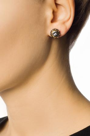 Earrings with cubic zirconia od Bottega Veneta
