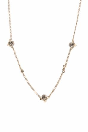 Necklace on a chain with a skull motif od Alexander McQueen