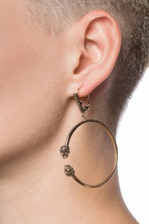 Earrings with a skull motif od Alexander McQueen