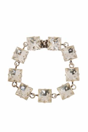 Bracelet with white stones od Saint Laurent