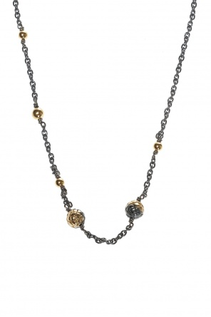 Silver necklace with charms od Bottega Veneta