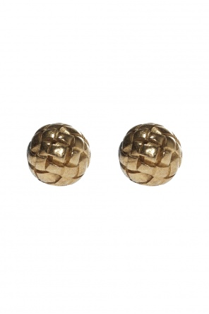 Round earrings od Bottega Veneta