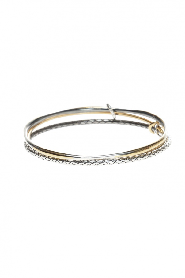 Bracelet With 3 Rings Bottega Veneta Vitkac Shop Online