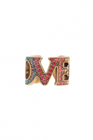 Ring with decorative stones od Gucci