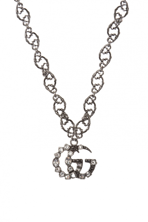 Branded necklace od Gucci