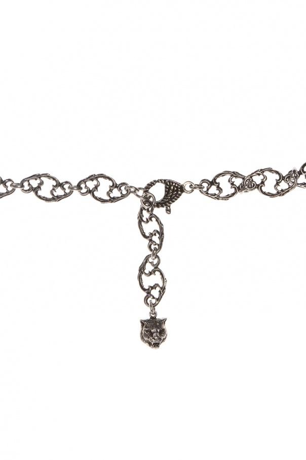 Branded necklace od Gucci