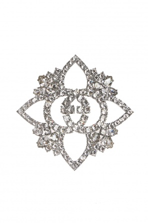 Flower-shaped brooch od Gucci
