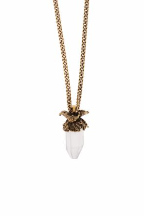 Necklace with a pendant od Alexander McQueen
