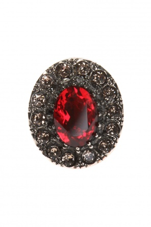 Ring with decorative elements od Alexander McQueen