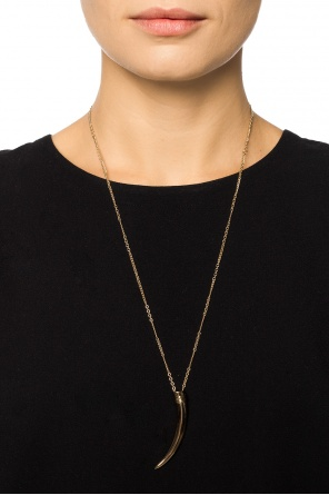 Brass necklace od Saint Laurent