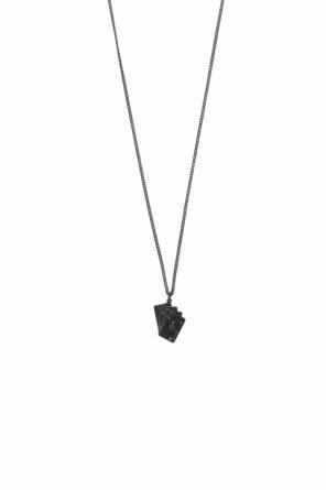 Necklace with a pendant and a card motif od Saint Laurent