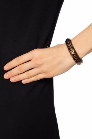 Bracelet with embossed pattern od Saint Laurent